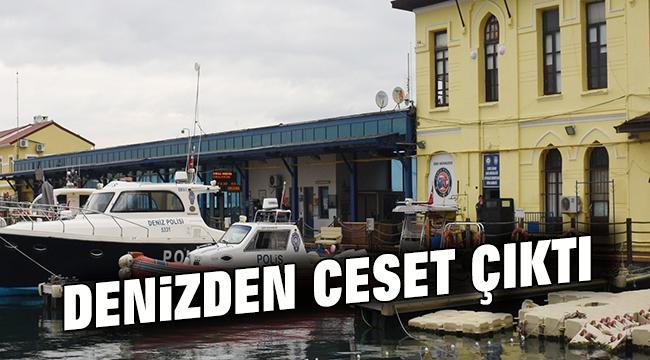İzmir'de Denizden Ceset Çıktı