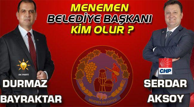 Menemen Belediye Başkanı Seçim Anketi