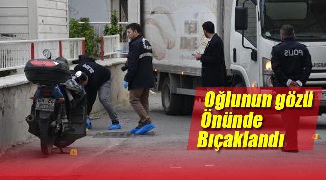 İzmir Bayraklı'da Hatalı Park Kavgasında Oğlunun Yanında Bıçakladılar