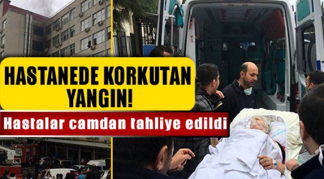 İzmir Tepecik Eğitim Araştırma Hastanesinde Yangın