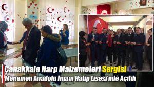 Menemen Anadolu İmam Hatip Lisesi Çanakkale'yi Menemen'e Getirdi