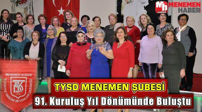 Türkiye Yardım Sevenler Derneği Kuruluş Yıl Dönümü Menemen'de Kutlandı