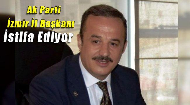 Ak Parti İzmir İl Başkanı Aydın Şengül İstifa Ediyor