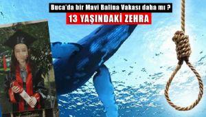 Buca'da 13 Yaşındaki Kızın Sır İntiharı Mavi Balina Vakası mı ?