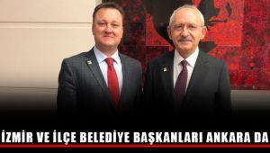 İzmir ve İlçe Belediye Başkanları Ankara'da
