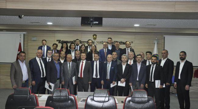 Menemen Belediye Başkanı Serdar Aksoy Meclis'ini Topladı