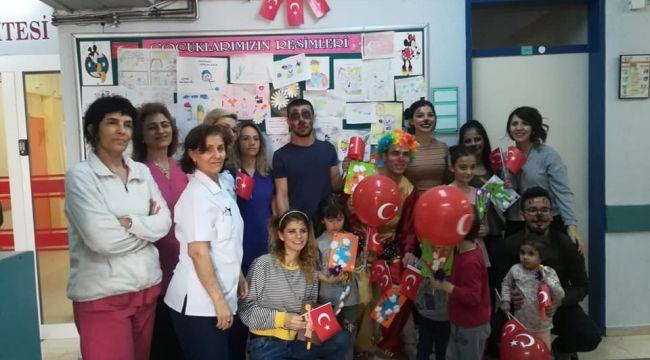 Menemen Devlet Hastanesinde 23 Nisan Kutlaması