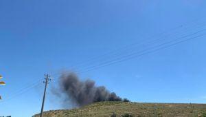 Atık Depolama Alanında Yangın Çıktı