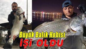 Büyük Balık Yakalama hobisi; Aranan Kişi Yaptı