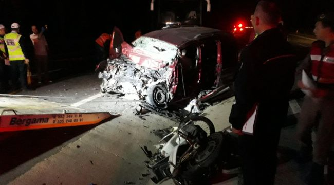 İzmir'de Korkunç Kaza! 7 Yaralı Var