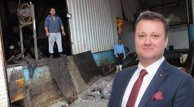 Menemen'de Kötü Koku Yayan Balık Yeri Mühürlendi
