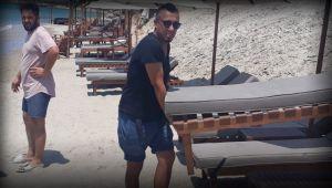 Çeşme'de Halk Plajların Özelleşmesinden Şikayetçi