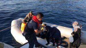 Çeşme'de kaçak göçmen yakalandı
