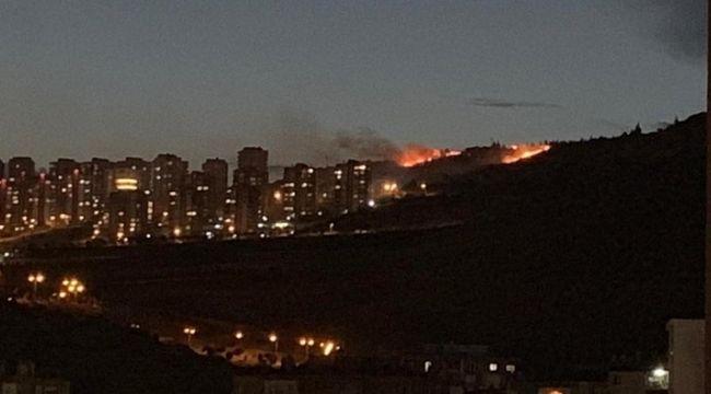 Evka 6 Mahallesinde Korkutan Yangın