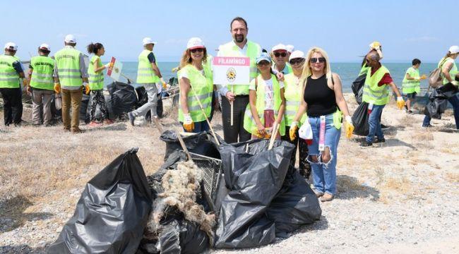 Homa Dalyanında Çöp Toplama Etkinliği Düzenlendi.