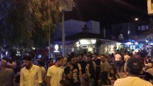İzmir Çeşmede Başkan Adayları Dev Ekranda İzlendi