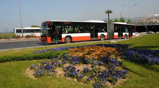 İzmir'de Bayram Boyunca Ulaşım Ücretsiz