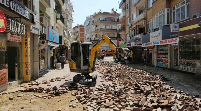 Menemen Belediyesi Sevgi Yolunu Yeniliyor