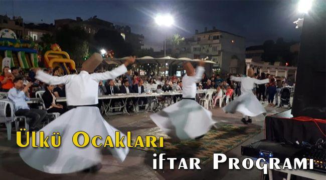 Menemen Ülkü Ocaklarından Kadir Gecesinde İftar Programı