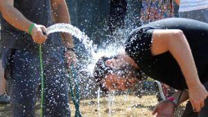 Menemende hava sıcaklıkları 37 derecenin üstüne çıktı