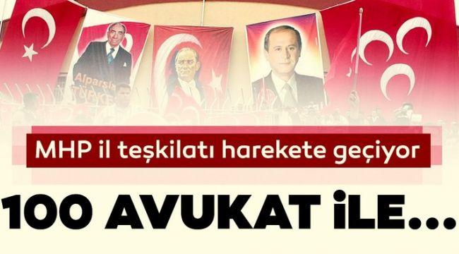 MHP İzmir Teşkilatına Bağlı 100 Avukat Seçimler İçin İstanbul'a Gidiyor
