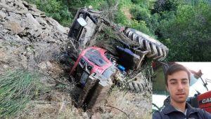 Ödemiş'te Feci Traktör Kazası 1 Ölü!