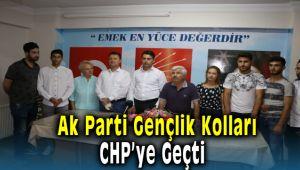 Ak Parti Menemen Gençlik Kolları CHP'ye Transfer Oldu