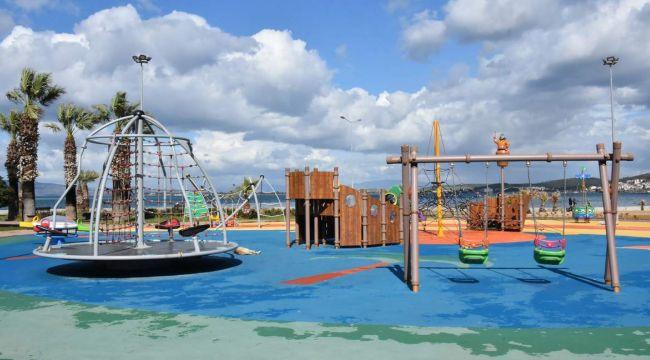 Aliağa Belediyesi Park Malzemeleri Alacak