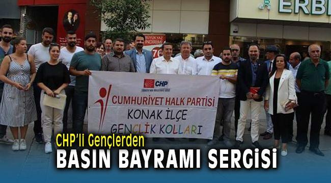 CHP'li Gençlerden Basın Bayramı Sergisi