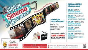 Çiğli'de Sinema Günleri Devam Ediyor