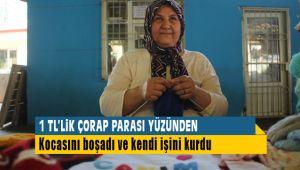 Çorap Parası Yüzünden Kocasını Boşadı Kendi İşini Kurdu