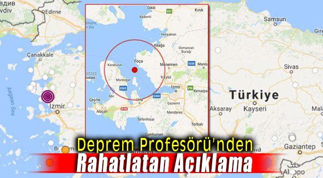 Deprem Profesörü Şener Üşümezsoy Ege ve Foça Kıyılarını Değerlendirdi