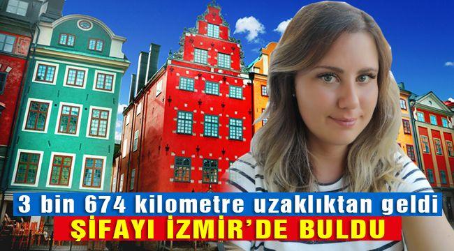 İsveçten Geldi Şifasını Türkiye'de Buldu