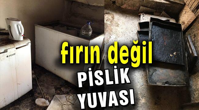 İzmir'de Denetim Yapılan Fırını Görenler Hayrete Düştü