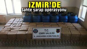 İzmir Karaburun'da Sahte Şarap Operasyonu