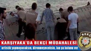 İzmir Karşıyaka'da Bekçilerin Gence Yaptığı Müdahale Tepki Çekti