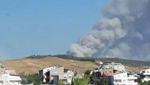 İzmir Yangınlarla Uğraşıyor