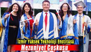 İzmir Yüksek Teknoloji Enstitüsü'nün Mezuniyet Coşkusu