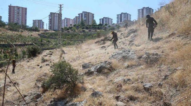 Karşıyaka Belediyesi Yangına Karşı Önlem Alıyor