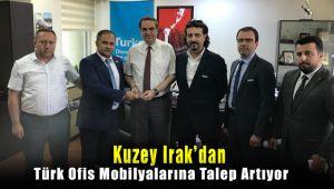 Kuzey Irak'dan Türk Ofis Mobilyalarına Aşırı Talep