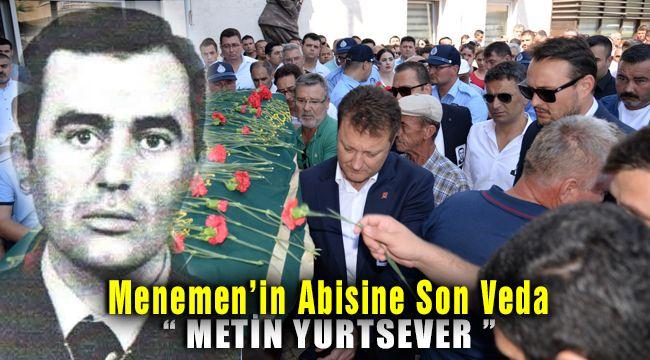 Menemen'in Zabıta Abisi Metin Yurtsever Göz Yaşlarıyla Uğurlandı
