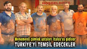 Menemenli Çömlek Ustaları İtalya'da Türkiye'yi Temsil Edecek