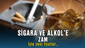 Sigara ve Alkol'e Yeni Zamlar Resmi Gazete'de