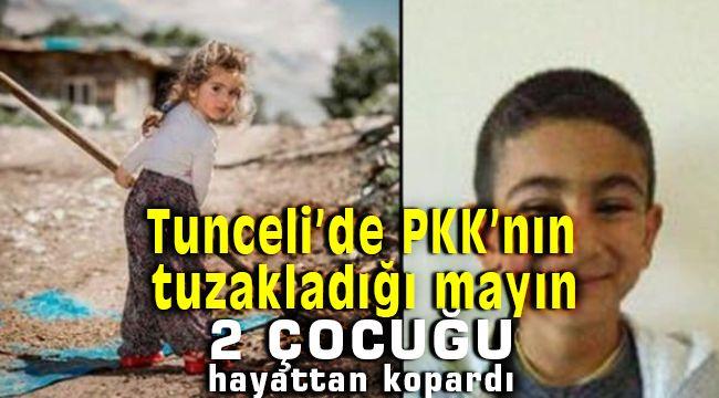 Tunceli'de Pkk'nın Döşediği Mayın 2 Çocuğun Hayatını Aldı