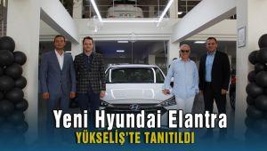 Yeni Hyundai Elantra, Yükseliş'te tanıtıldı.