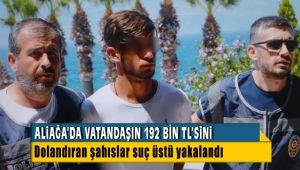 Aliağa'da Telefon Dolandırıcıları Suç üstü Yakalandı