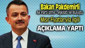 Bakan Bekir Pakdemir'li Ak Parti İzmir Teşkilatı İle Buluştu