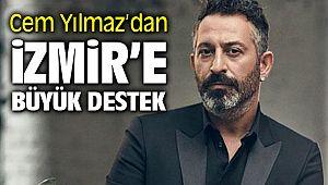 Cem Yılmaz İzmir'e Dört Bin Fidanla Destek Oldu