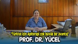 Ege Üniversitesi Ziraat Fakültesi Dekan Yardımcısı Prof. Dr. Banu Yücel, Apiterapi konusunda önemli açıklamalarda bulundu.