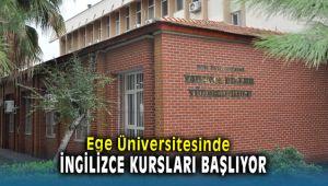 Ege Üniversitesinde Yabancı Dil Kursları Başlıyor